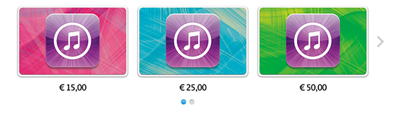Idee regalo: carta regalo iTunes