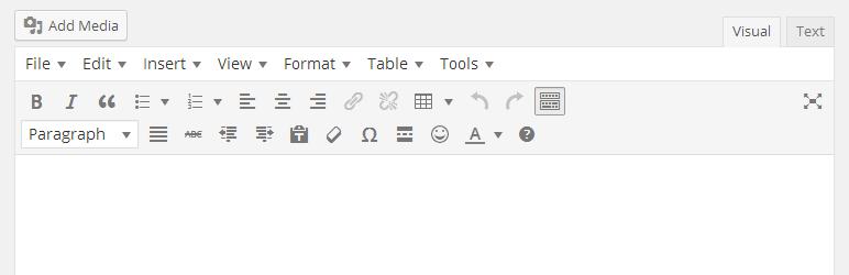 Plugin fondamentali: TinyMCE Advanced